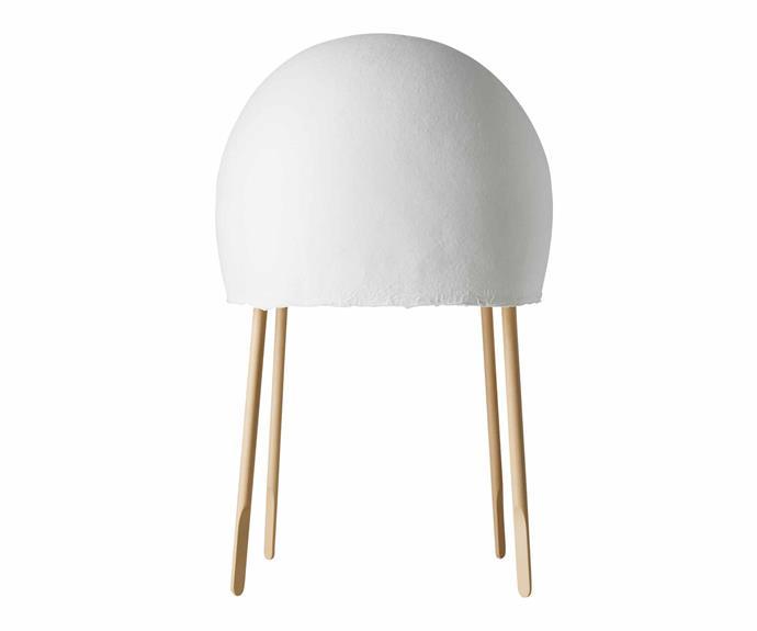 "Foscarini 'Kurage' table lamp, $1180, [Space](https://www.spacefurniture.com.au/|target=""_blank""|rel=""nofollow"")."