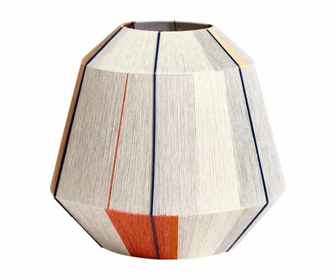 "Hay 'Bonbon' lampshade in Earth Tones, $1087, [Finnish Design Shop](https://www.finnishdesignshop.com/?region=au|target=""_blank""|rel=""nofollow"")."