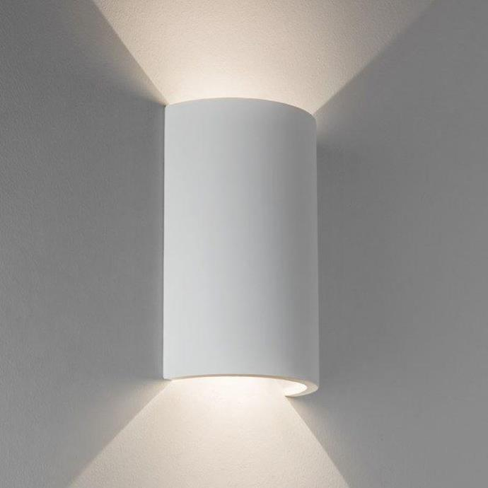 "Cylindrical Up-Down Wall Light, $219, [Lighting Collective](https://lightingcollective.com.au/collections/wall-lights-interior/products/demi-cylinder-up-down-wall-light|target=""_blank""