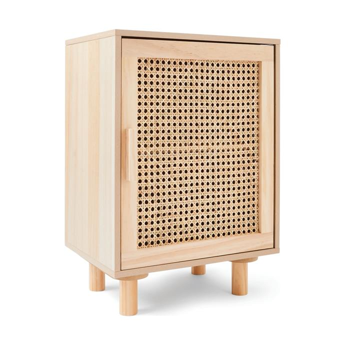 "The perfect place to sit your cup of tea and favourite book for those lazy winter mornings in bed. [Rattan bedside table, $39](https://www.kmart.com.au/product/rattan-side-table/3031826|target=""_blank""