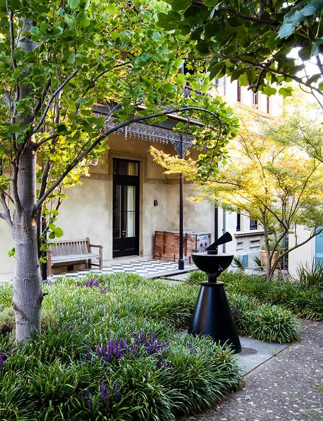 "Once a barren stretch of lawn, this large [Melbourne garden](https://www.homestolove.com.au/semi-formal-garden-restoration-reflecting-historic-home-19931|target=""_blank"") has been expertly shaped into a lovely, layered wonderland befitting a special historic home"