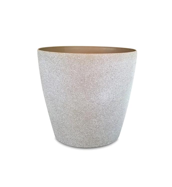 "Eden Sandstone Self Watering Round Planter, $40.40, [Bunnings](https://www.bunnings.com.au/eden-35-x-33cm-sandstone-self-watering-round-planter_p2941323|target=""_blank""|rel=""nofollow"")"