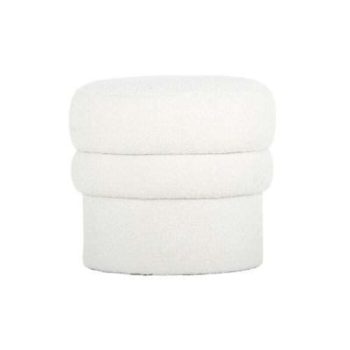 "Monet Boucle Ottoman, White, $345, [Life Interiors](https://www.lifeinteriors.com.au/life-interiors-monet-boucle-ottoman-white?gclid=Cj0KCQjw0Mb3BRCaARIsAPSNGpULoMKivge82DLu6mpOOzAMKYhjmFSjOCsMiCSbFq5d6qmFLTos2kYaAhzlEALw_wcB|target=""_blank""