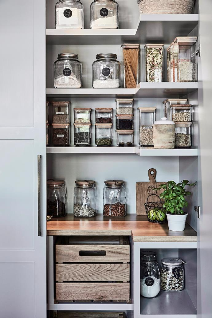 "[5 of the best pantry food storage tips from the experts >](https://www.homestolove.com.au/pantry-food-storage-tips-21562|target=""_blank"")"