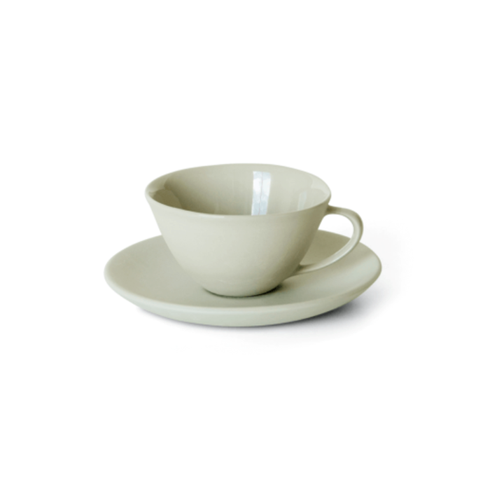 "Tea Cup & Saucer in Dust, $ 79, [Mud Australia](https://mudaustralia.com/product/tea-cup-and-saucer/|target=""_blank""