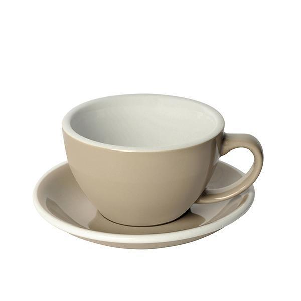 "300ml Egg Cup & Saucer in Taupe (Classic Series), $19.80, [Sip Imports](https://sipimports.com.au/collections/egg/products/300ml-coffee-cup-saucer-egg-series?variant=5840200728614|target=""_blank""