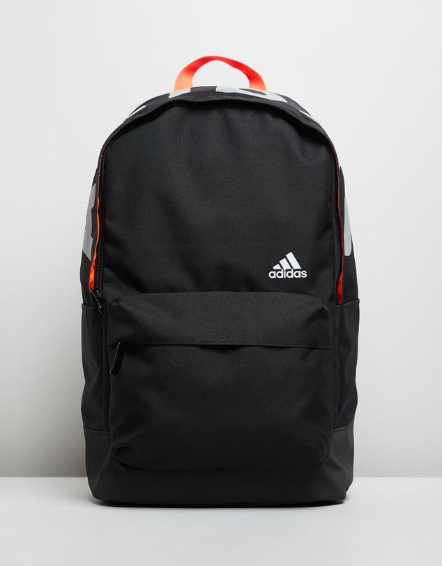 """Adidas Performance Classic Graphic Backpack, $50, [The Iconic](https://www.theiconic.com.au/classic-graphic-backpack-965676.html