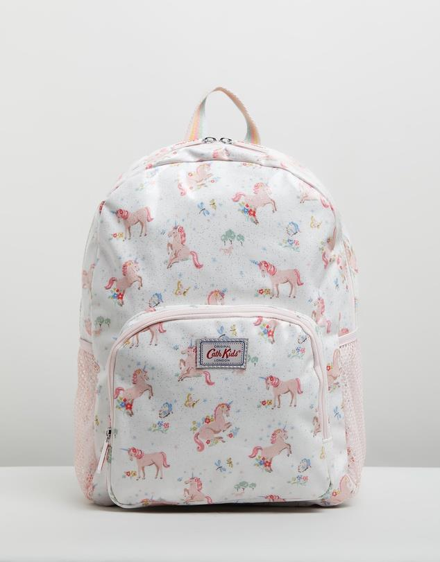 """Cath Kidston, Classic Large Rucksack - Kids, $84.95, [The Iconic](https://www.theiconic.com.au/classic-large-rucksack-kids-967245.html
