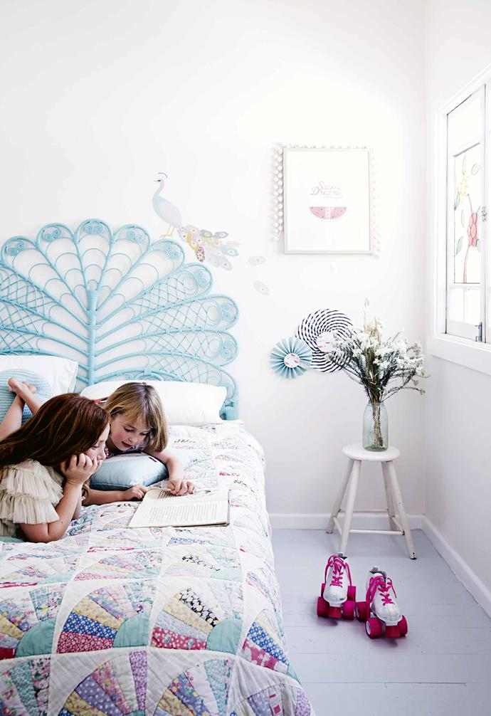 """**Choose easy-to-update style**<br><br>Kids change their minds all the time as to what they like, so consider temporary options when it comes to creating the [perfect children's bedroom](https://www.homestolove.com.au/modern-childrens-bedroom-ideas-13322