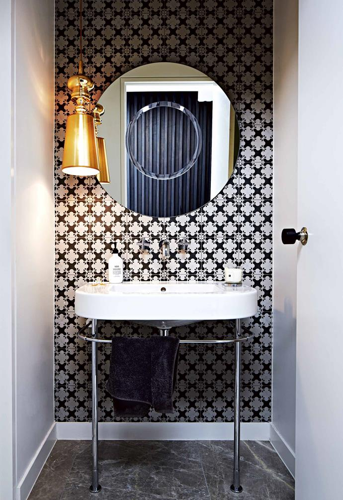 """We wanted to create a home we could grow in – one our daughters would want to hang out in as they got older,"" she says. ""We all love this house so much. It really feels like a home and we have no plans on going anywhere for a long time.""<br><br>**Powder room** A modern take on a 1930s [powder room](https://www.homestolove.com.au/powder-room-design-20620