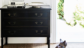 How to update an old dressing table with paint