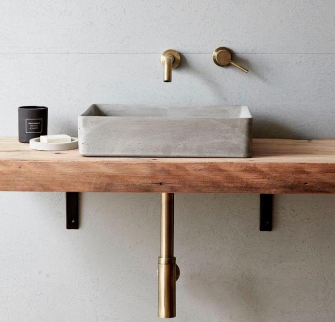 "Lux Concrete Basin Accent Bath in Light Charcoal, $690, [Accent Bathrooms](https://accentbathrooms.com.au/products/lux-concrete-basin?variant=12556450594894&currency=AUD&utm_medium=product_sync&utm_source=google&utm_content=sag_organic&utm_campaign=sag_organic&gclid=Cj0KCQjw6PD3BRDPARIsAN8pHuHkXuJjvDf64e2TB5NB6_rfNIKLITUPyWtKGfKMAUmeDya32I9yYb0aAuwrEALw_wcB|target=""_blank""|rel=""nofollow"")"