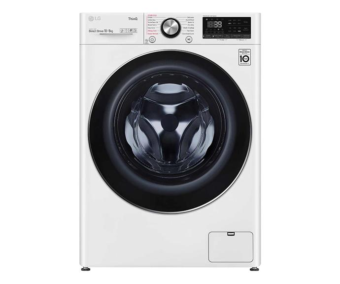 "LG 10kg/6kg Front Load Washer Dryer Combo with Steam, $1699, [LG Australia](https://www.lg.com/au/washing-machines/lg-wvc9-1410w-washer-dryer-combo#none|target=""_blank""