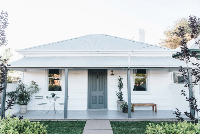 """**[The Repose, Dubbo, NSW](https://www.airbnb.com.au/rooms/39217376?source_impression_id=p3_1593751577_YKMxa4IsqfxKrxp%2B&guests=1&adults=1 target=""""_blank"""" rel=""""nofollow"""")** <br><br> A quintessential Australian cottage, The Repose is suitably named. The artisan and extremely cosy boutique residence is the perfect place to press pause, rest and recuperate. Accommodating up to four guests, it doesn't hold make on the treats either - offering a complimentary breakfast and Aesop luxuries.  <br><br> Price: from $300.83 per night."""