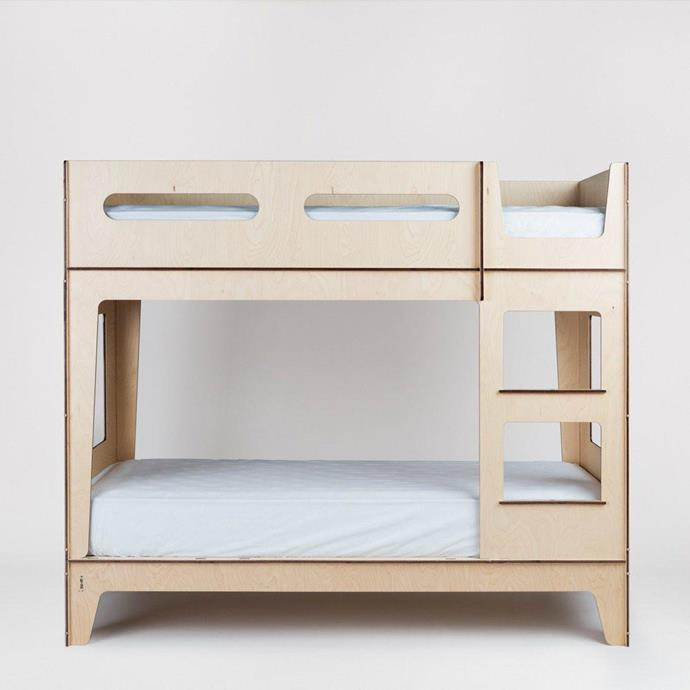 """Castello Bunk Bed, $2,450, [Plyroom](https://www.plyroom.com.au/collections/child/products/castello-bunk-bed-1 target=""""_blank"""" rel=""""nofollow"""")"""