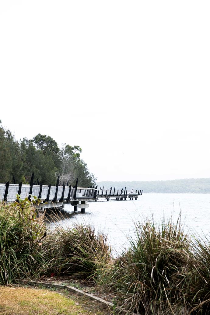 The 360m-long Red Bluff Boardwalk in Warners Bay is part of a longer walk.