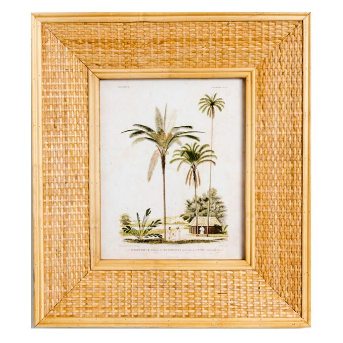 "Sunday Homewares 'Lulu' Rattan Photo Frame, from $99, [Temple & Webster](https://www.templeandwebster.com.au/Lulu-Rattan-Photo-Frame-HC57-RAYE1771.html|target=""_blank""