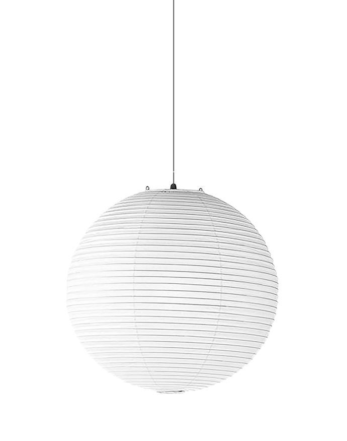 "Akari 55A Pendant Lamp, $720, [Living Edge](https://livingedge.com.au/lighting/pendant-lights/vitra-akari_55a_pendant_lamp/VT-AKARI55A.html|target=""_blank""|rel=""nofollow"")"