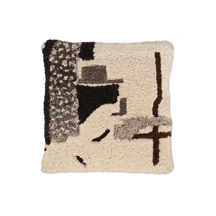 "Tom Dixon 'Abstract' cushion, $265, [Living Edge](https://livingedge.com.au/accessories/cushions-throws/tom_dixon-abstract_cushion/TD-ABSCU.html|target=""_blank""|rel=""nofollow"")"