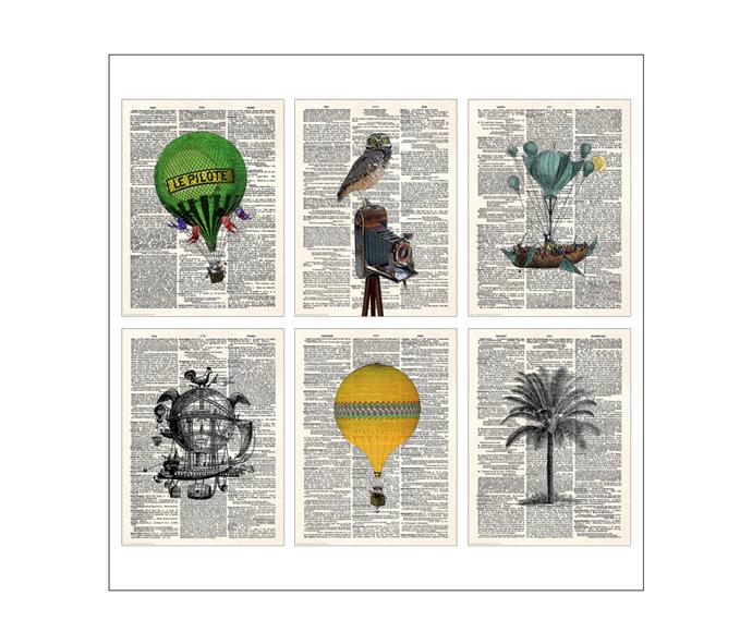 "BILD Poster, Explore30x40, Set of 6, $20, [IKEA](https://www.ikea.com/au/en/p/bild-poster-explore-00465749/|target=""_blank""|rel=""nofollow"")"