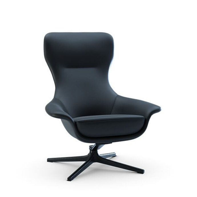 """Customisable 'Seymour' high swivel chair, from $2250, [King Living](https://www.kingliving.com.au/furniture/chairs-armchairs/seymour-chair/seymour-high-back-swivel