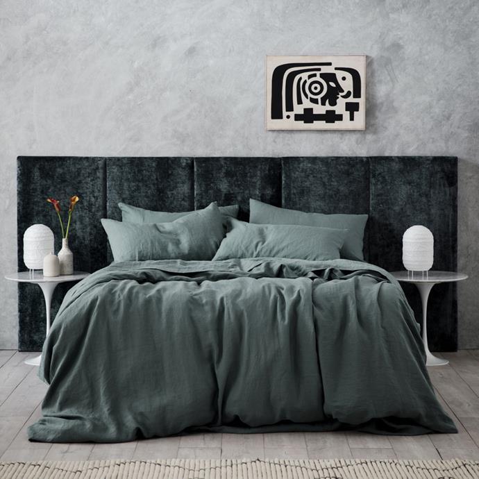 "Oslo Bedhead - Queen, $2160 - $2520, [Heatherly Design](https://heatherlydesign.com.au/product/oslo/|target=""_blank""|rel=""nofollow"")"