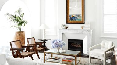An elegant harbourside apartment with Mediterranean-inspired interiors