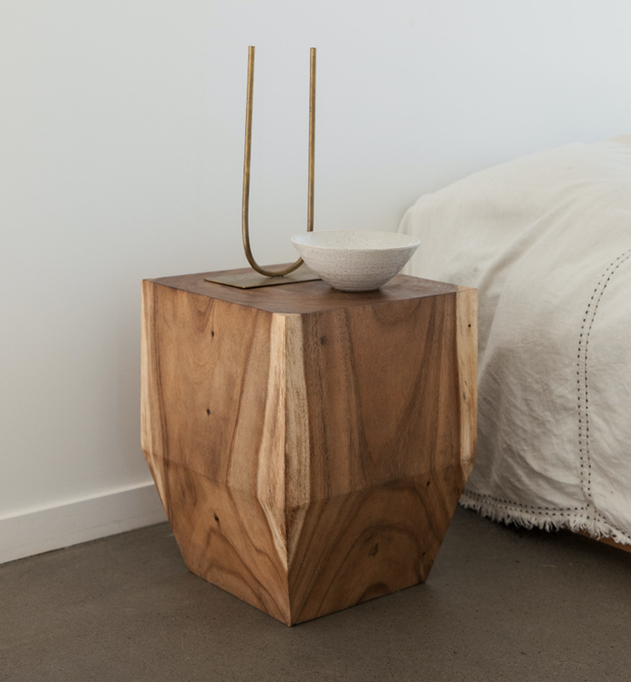 """The Square Peg Tabouret, $440, [Worn Store](https://wornstore.com.au/collections/furniture/products/the-square-peg-natural-out-of-stock