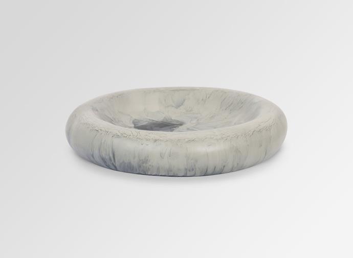 "Large Resin Mother of Pearl Dish - Dusk, $120, [Dinosaur Designs](https://www.dinosaurdesigns.com.au/products/large-resin-mother-of-pearl-dish-dusk|target=""_blank""|rel=""nofollow"")"