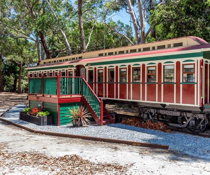 This South Australian Train Carriage was once part of the Barossa Valley Hotel.
