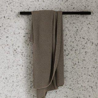 "MENU Towel Rail Bar Black (Classic Version), $269, [Design Stuff](https://www.designstuff.com.au/menu-towel-rail-bar-black-9043|target=""_blank""|rel=""nofollow"")"
