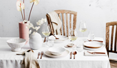 Chic table setting ideas for at-home entertaining