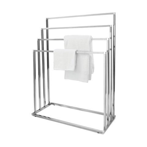 "4 Tier Towel Rack Chrome, $25, [Kmart](https://www.kmart.com.au/product/4-tier-towel-rack-chrome/2650309|target=""_blank""|rel=""nofollow"")"
