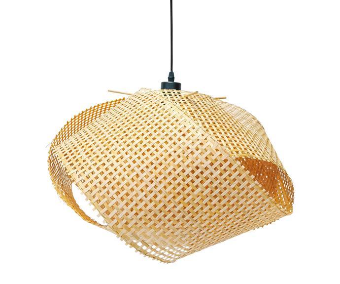 "Ginger pendant, $150, [Domo](https://www.domo.com.au/|target=""_blank""|rel=""nofollow"")."