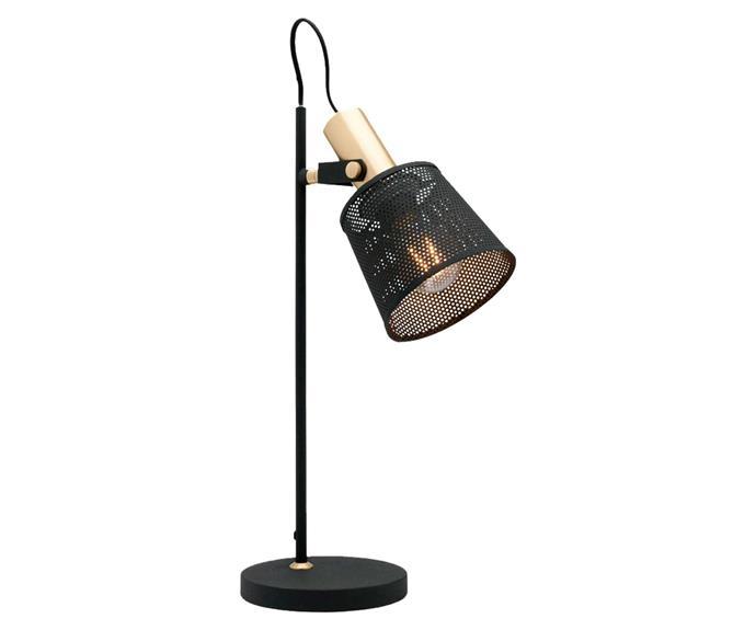 "Arizona lamp, $108.70, [Schots Home Emporium](https://www.schots.com.au/|target=""_blank""|rel=""nofollow"")."