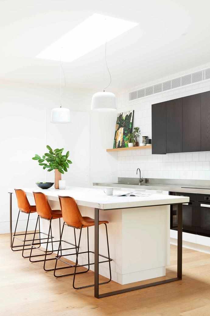 """While lower [cabinets](https://www.homestolove.com.au/kitchen-cabinet-door-styles-7021