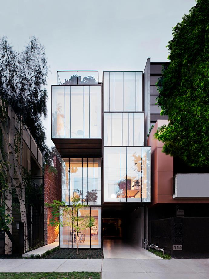 """""""Wedged between two five-storey mixed-use buildings, the site presented a unique opportunity to explore an alternative model of 'vertical living' with an open-minded client who approached us to accommodate a large, extended family in a flexible and adaptable home,"""" says Matt."""