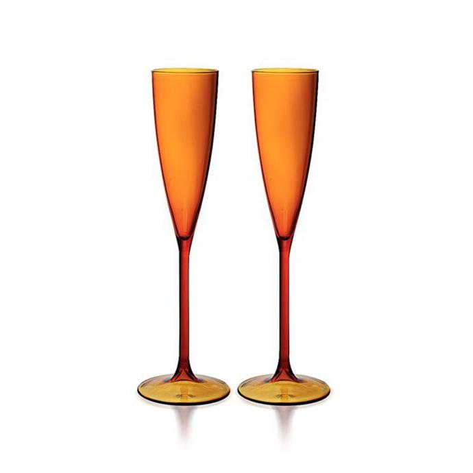 "Set of two flutes, $79, [Maison Balzac](https://www.maisonbalzac.com/products/2-amber-flutes-79|target=""_blank""|rel=""nofollow"")"