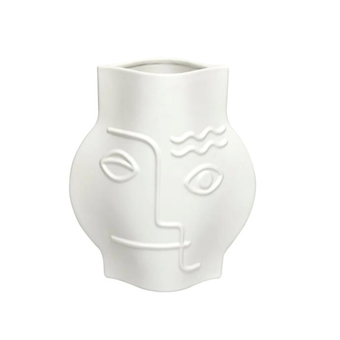 "Pepi vase, $160, [Fenton & Fenton](https://www.fentonandfenton.com.au/collections/decor/products/pepi-vase-white|target=""_blank""|rel=""nofollow"")"