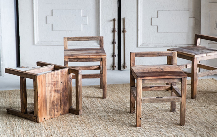 """Old Elm Judd Dining Stool, $250, [MCM House](https://www.mcmhouse.com/collections/stools/products/old-elm-judd-dining-chair