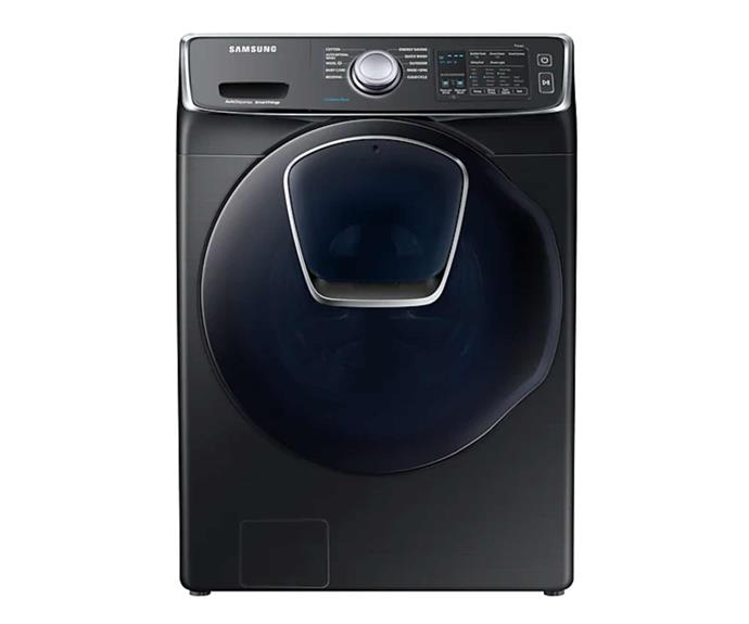 "Samsung 16kg Front Load Washer, $2499, [The Good Guys](https://www.thegoodguys.com.au/samsung-16kg-front-load-washer-wf16n8750kv|target=""_blank""