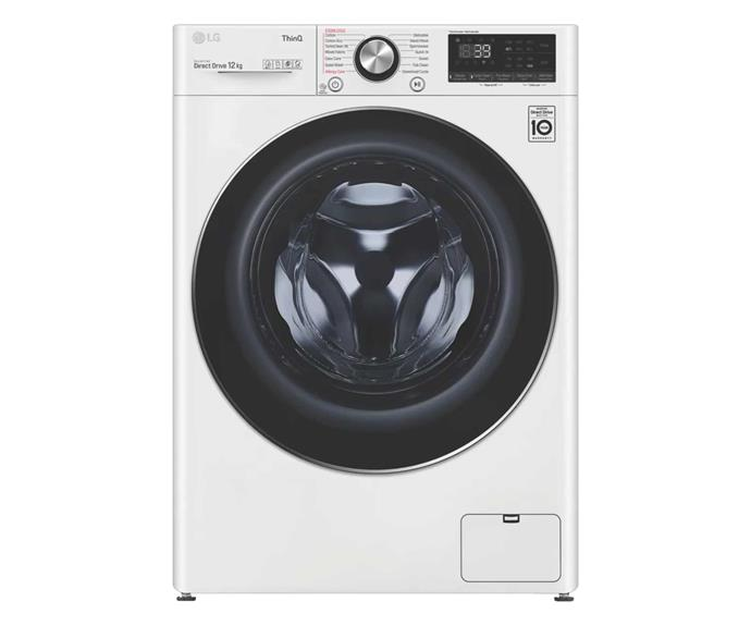 "LG 12kg Front Load Washer, $1399, [The Good Guys](https://www.thegoodguys.com.au/lg-12kg-front-load-washer-wv9-1412w|target=""_blank""