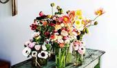 10 August wedding flowers