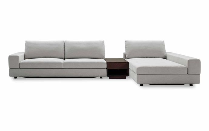 "Jasper II sofa in Palm Beach Whitewash, from $9789, [King Living](https://www.kingliving.com.au/|target=""_blank""|rel=""nofollow"")."