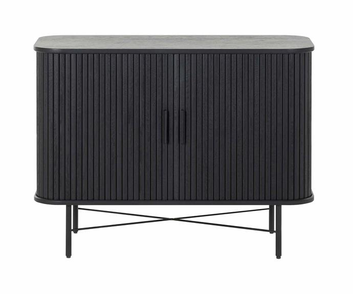 "Ipanema sideboard in Black, $1295, [Life Interiors](https://www.lifeinteriors.com.au/|target=""_blank""|rel=""nofollow"")."
