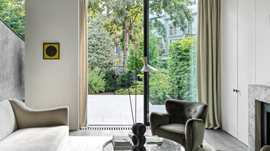 A dilapidated townhouse transformed into an elegant family home