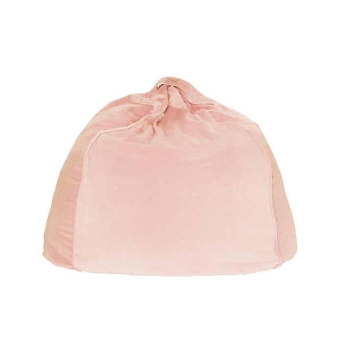 """Peach skin velvet beanbag cover, $149, [Kip & Co](https://kipandco.com.au/products/peach-skin-velvet-beanbag target=""""_blank"""" rel=""""nofollow"""")"""