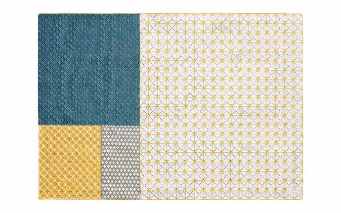 "Gan 'Silaï Spaces' rug (171cm x 258cm), $4559, [Hub Furniture](http://www.hubfurniture.com.au/|target=""_blank""|rel=""nofollow"")."