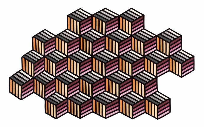 "Gan 'Kilim Parquet' rug (213cm x 147cm), $2375, [Hub Furniture](http://www.hubfurniture.com.au/|target=""_blank""|rel=""nofollow"")."