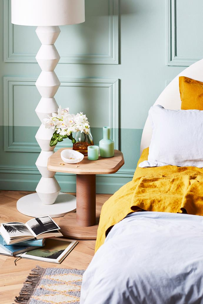 A pop of yellow is guaranteed to bring joy to your home.